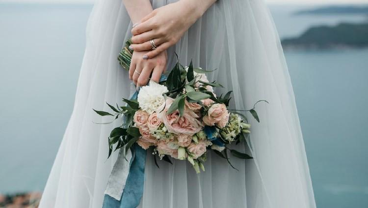 Ilustrasi pengantin wanita