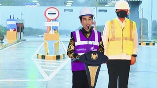 Terbang ke Sumsel, Jokowi Resmikan Tol Kayu Agung-Palembang