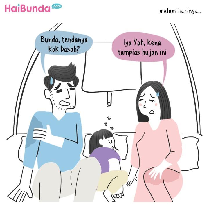 Komik HaiBunda Kamping