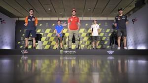 FOTO: MotoGP Catalunya, Pembalap Spanyol 'Kepung' Dovizioso