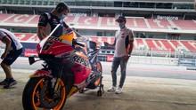 Legenda Semringah Lihat MotoGP Tanpa Marc Marquez