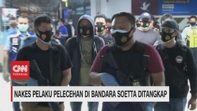 VIDEO: Nakes Pelaku Pelecehan di Bandara Soetta Ditangkap