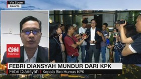 VIDEO: Febri Diansyah Bicara Soal Mundur Dari KPK