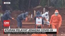 VIDEO: Aturan Pelayat Jenazah Covid-19