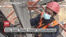 VIDEO: Nyali Sang Teknisi Tower Telekomunikasi