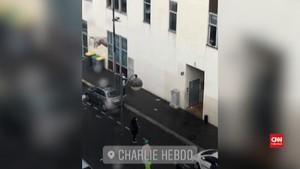 VIDEO: Detik-detik Setelah Penusukan Dekat Charlie Hebdo