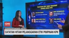 VIDEO: Catatan Hitam Pelanggaran Etik Pimpinan KPK
