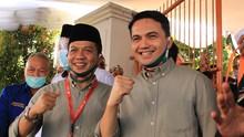 Survei LSI Denny JA: Elektabilitas Dadang-Sahrul Unggul