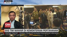 VIDEO: Eks Tim Mawar di Kementerian Pertahanan