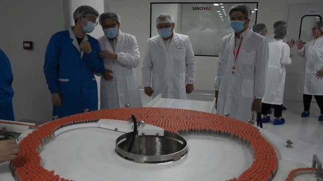 Menlu Retno Marsudi, mengatakan BPOM akan meninjau lokasi pengembangan vaksin corona di fasilitas Sinovac di Beijing, China.