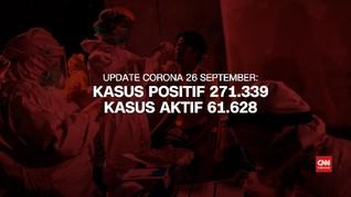VIDEO: Kasus Positif Corona Tembus 271.339