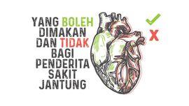 INFOGRAFIS: Daftar Makanan agar Jantung Sehat