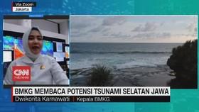 VIDEO: BMKG Membaca Potensi Tsunami Selatan Jawa
