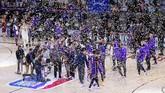 Los Angeles final NBA 2019/2020 usai mengalahkan Denver Nuggets 117-107 di gim kelima final NBA Wilayah Barat, Minggu (27/9).