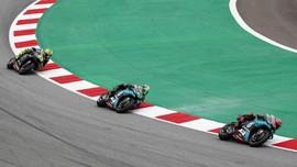 Morbidelli Tetap Marah Saat Disusul Rossi di MotoGP