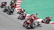 Hasil MotoGP Catalunya: Quartararo Menang, Rossi Kecelakaan