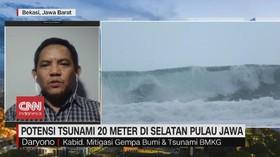 VIDEO: Potensi Tsunami 20 Meter di Selatan Pulau Jawa