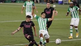 Hasil Liga Spanyol: Real Madrid Susah Payah Kalahkan Betis