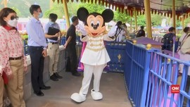 VIDEO: Senyum Mickey Sambut Pengunjung Disneyland Hong Kong
