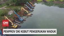 VIDEO: Pemprov DKI Kebut Pengerukan Waduk