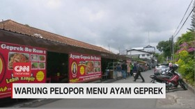 VIDEO: Warung Pelopor Menu Ayam Geprek