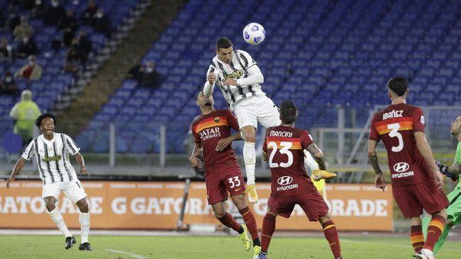 Cristiano Ronaldo muncul sebagai penyelamat Juventus saat bermain imbang 2-2 melawan AS Roma dalam laga lanjutan Liga Italia.