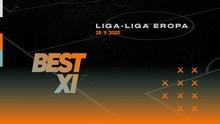 INFOGRAFIS: Best 11 Eropa Pekan Ini, Suarez dan Vardy Duet