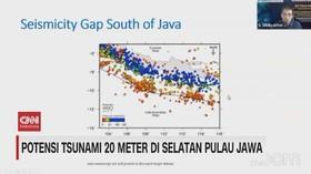 VIDEO: Ini Penjelasan Tentang Potensi Tsunami 20 Meter