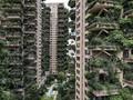 FOTO: Menengok Apartemen Berbalut Dedaunan di China