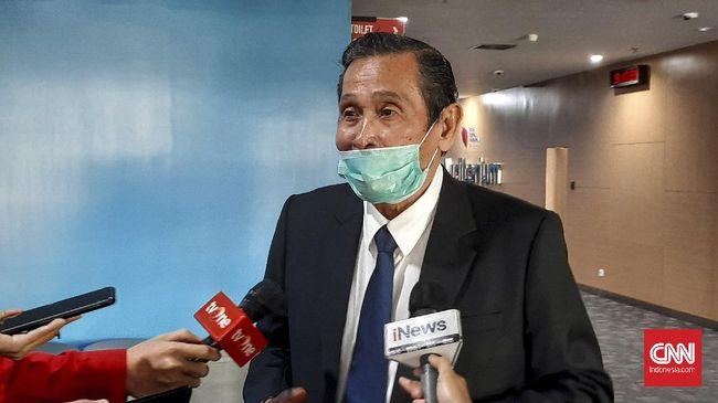 Kondisi Ketua Dewas KPK, Tumpak Hatorangan Panggabean dilaporkan dalam kondisi stabil usai dilarikan ke RS karena serangan jantung.