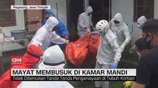 VIDEO: Penemuan Mayat Membusuk di Kamar Mandi