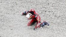 Rossi dan Dovizioso Korban Tikungan 'Maut' MotoGP Catalunya