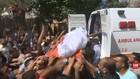 VIDEO: Pemakaman 2 Nelayan Palestina Yang Tewas Ditembak