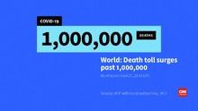 VIDEO: Kematian akibat Covid-19 di Dunia Tembus Satu Juta