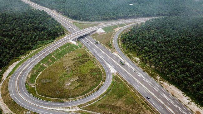 Kementerian PUPR melanjutkan pembangunan Jalan Tol Trans Sumatra di Pulau Sumatra dari Provinsi Lampung hingga Aceh sepanjang 2.987 kilometer (Km).