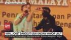 VIDEO: Viral Joget Dangdut Usai Undian Nomor Urut
