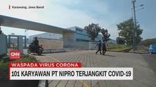 VIDEO: 101 Karyawan PT Nipro Terjangkit Covid-19