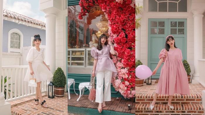 Tampil Cute dan Chic ala Korea dengan Outfit Puff Sleeve