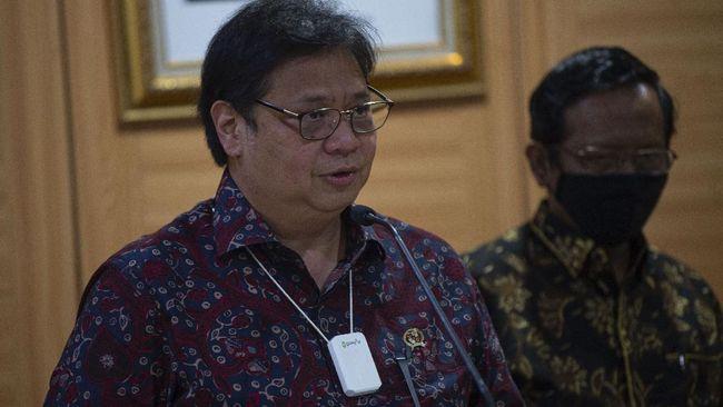 Menko Airlangga melaporkan penyaluran dana penanganan covid-19 dan pemulihan ekonomi nasional ke UMKM mencapai Rp103,31 triliun per 9 Desember 2020.