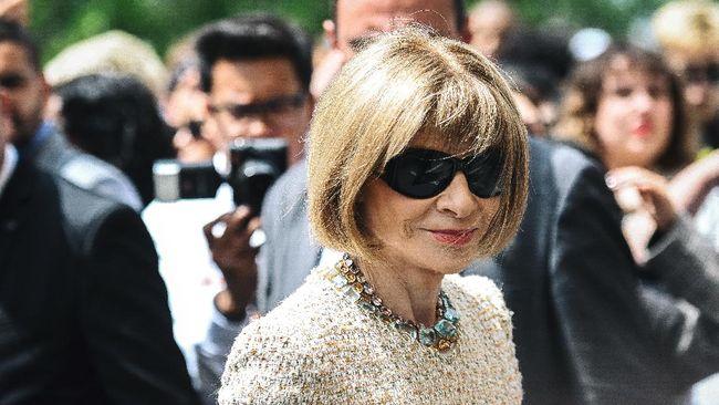 Anna Wintour buka suara terkait kontroversi sampul majalah Vogue edisi yang menampilkan Wakil Presiden AS terpilih Kamala Harris.