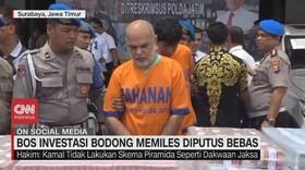 VIDEO: Bos Investasi Bodong Memiles Diputus Bebas