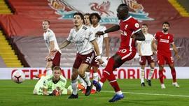 Hasil Liverpool vs Arsenal Bisa Beda Andai Mane Kartu Merah
