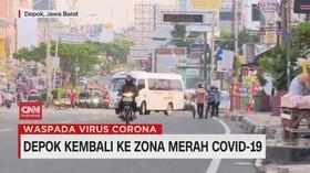 VIDEO: Depok Kembali ke Zona Merah Covid-19