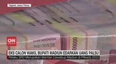 VIDEO: Eks Calon Bupati Madiun Edarkan Uang Palsu