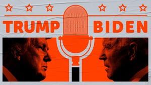 INFOGRAFIS: Fakta Debat Perdana Trump-Biden