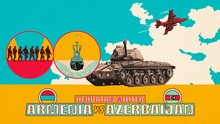 INFOGRAFIS: Perbandingan Militer Armenia vs Azerbaijan