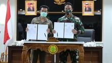 Kementan-TNI AD Perkokoh Kesiapan Penyediaan Pangan