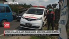VIDEO: Kisruh Ambulans Dihalangi ASN Berakhir Damai