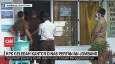 VIDEO: KPK Geledah Kantor Dinas Pertanian Jombang