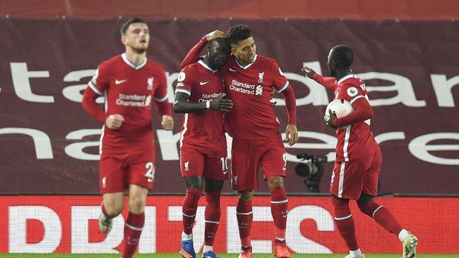 Liverpool berhasil mengalahkan Arsenal 3-1 pada pekan ketiga Liga Inggris di Stadion Anfield.